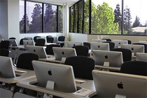 Network of MAC laptops CLASSROOMS AND UNIVERSITIES